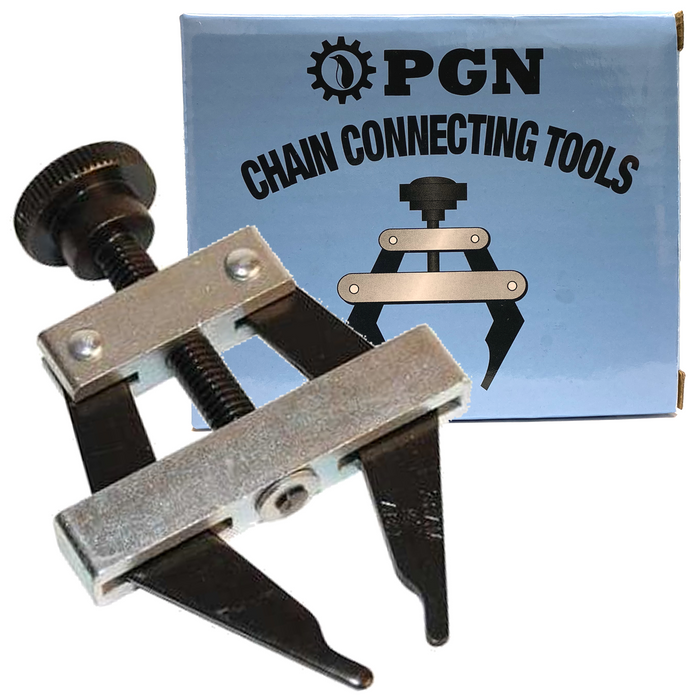 Roller Chain Connecting Puller Holder Tool for Chain Size # 25 35 40 41 50 60 420 415 415H 428H 520 530 #