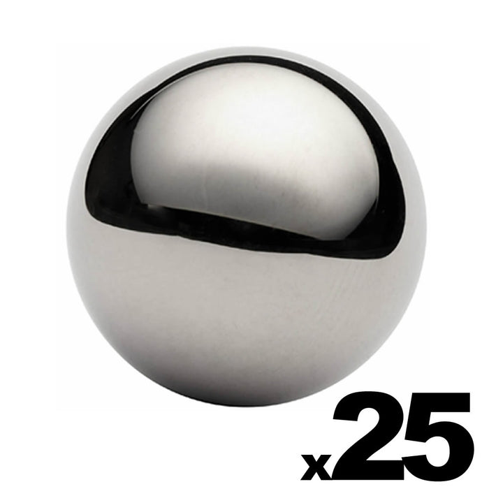"25 - 1"" Inch G25 Precision Chrome Steel Bearing Balls"