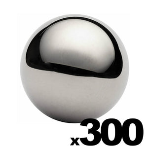"300 - 3/4"" Inch G25 Precision Chrome Steel Bearing Balls"