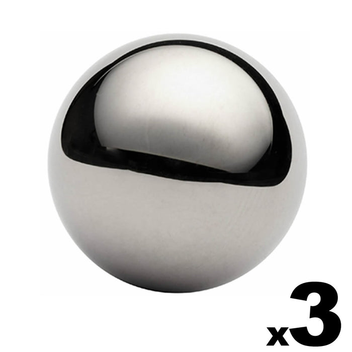 "3 - 1-1/2"" (1.5"") Inch G25 Precision Chrome Steel Bearing Balls"
