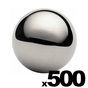 "500 - 3/4"" Inch G25 Precision Chrome Steel Bearing Balls"