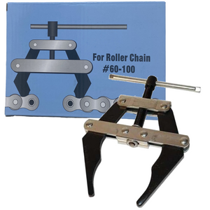 Roller Chain Connecting Puller Holder Tool for Chain Size #60, #80, and #100