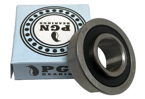 "5/8"" x 1-3/8"" Flanged Ball Bearing - 6202-2RS Flanged - Replacement for Lawnmower, Carts & Hand Trucks Wheels, and Wheelbarrows"