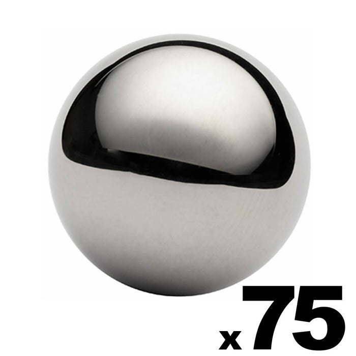 "75 - 1"" Inch G25 Precision Chrome Steel Bearing Balls"