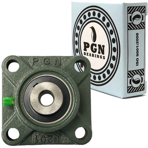 "UCF201-8 Pillow Block Square Flange Mounted Bearing 1/2"" Bore"