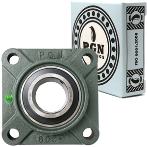 "UCF209-28 Pillow Block Square Flange Mounted Bearing 1-3/4"" Bore"