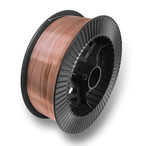 "ER70S-6 .030"" (0.8 mm) Mild Steel MIG Welding Wire - 33 Lbs Spool"