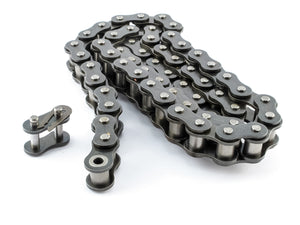 #25H Heavy Duty Roller Chain x 10 feet + Free Connecting Link