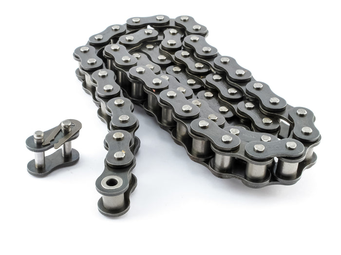 #40 Roller Chain x 3 feet + Free Connecting Link