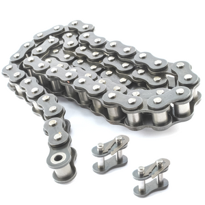 #50SS Stainless Steel Roller Chain x 10 feet + Free Connecting Link