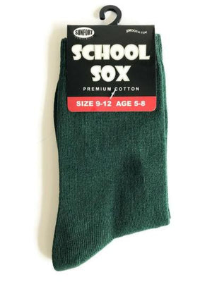 Crew Socks - Plain Coloured