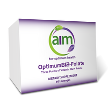 Load image into Gallery viewer, OptimumB12-Folate (60 lozenges)