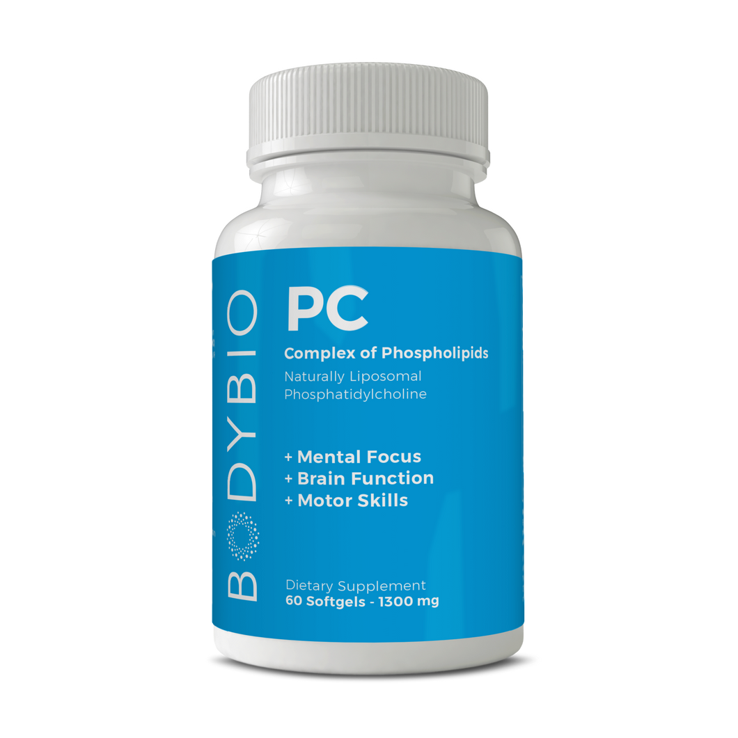 BodyBio Phosphatidylcholine PC (100 caps)