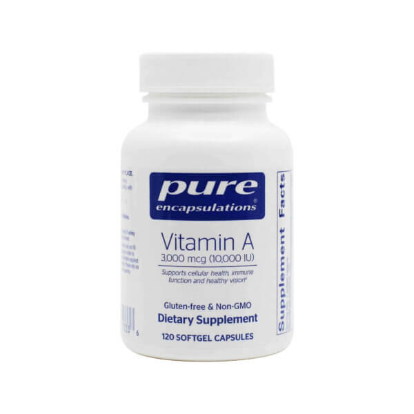 Vitamin A Natural 10,0000 IU (120 Softgels)