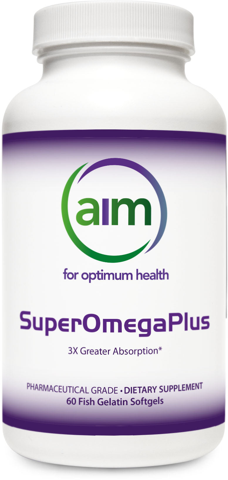 SuperOmegaPlus (60 fish gelatin softgels)
