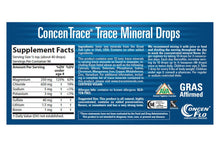 Load image into Gallery viewer, ConcenTrace Trace Mineral Drops (2 fl oz.)