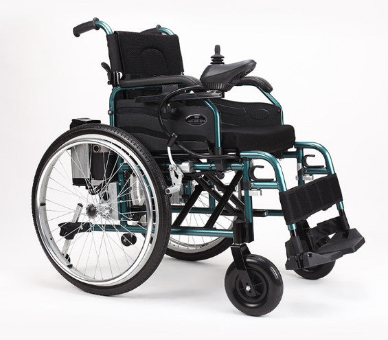 Automatic lightweight electric wheelchair with big wheel ... : big electric wheelchair - Cheerinfomania.Com