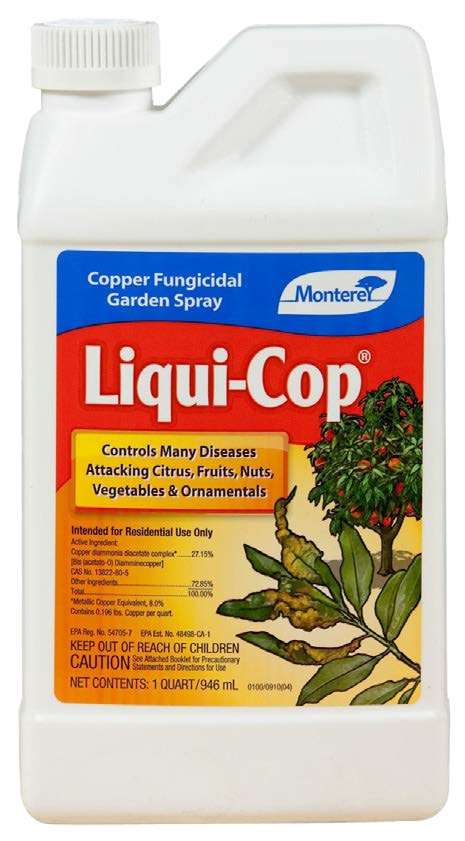 liquid cop garden spray bottle