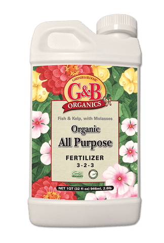 G&B Organics All Purpose Liquid Fertilizer