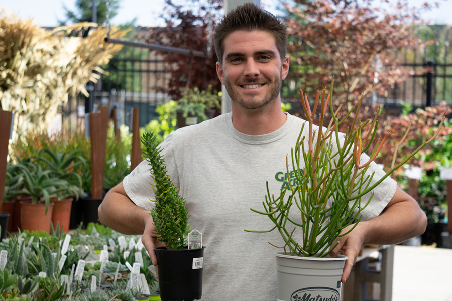 Anthony from Rocklin Staff Pic: Succulents