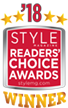 Style Magazine Readers' Choice Award Winner