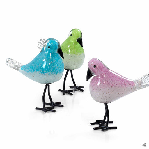 ApricotMint Glass finches