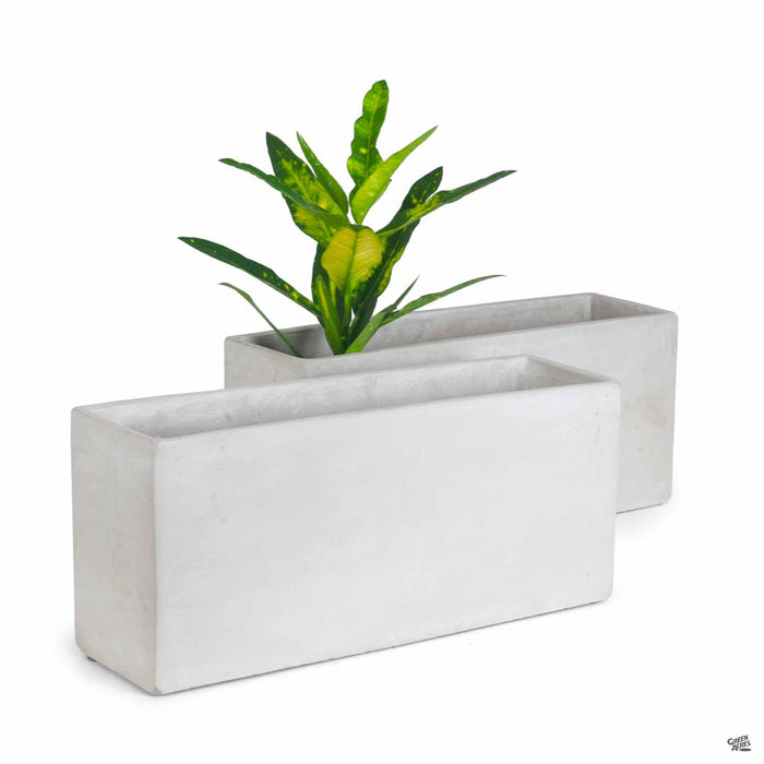 Mid Rectangular Plant Vessel