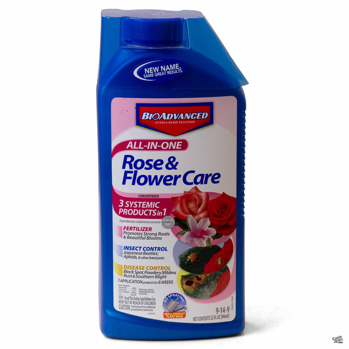 BioAdvanced® All-In-One Rose & Flower Care Concentrate