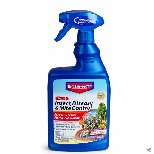 BioAdvanced 3-in-1 Insect, Disease and Mite Control 24 ounce Ready To Use