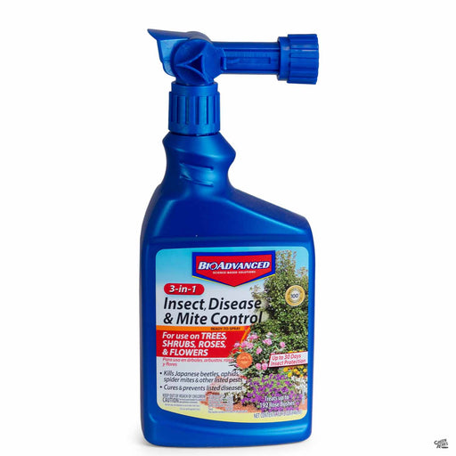 BioAdvanced 3-in-1 Insect, Disease and Mite Control 32 ounce Ready To Spray
