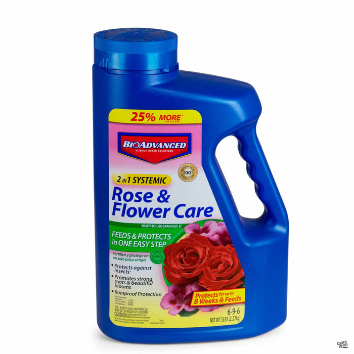 BioAdvanced 2-In-1 Rose and Flower Care granules 5 pounds