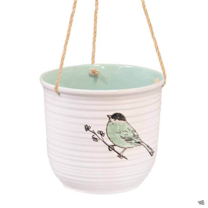 Emma Bird Hanging Pot