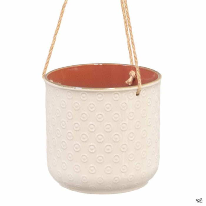 Gilbert Dot Hanging Pot