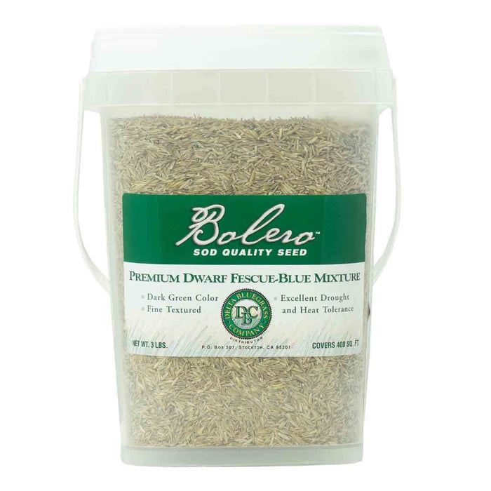 Bolero Plus Seed 3 pound container