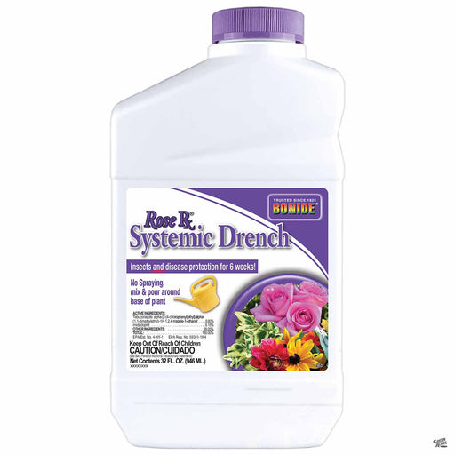 Bonide Rose Rx Systemic Drench 32 ounce concentrate