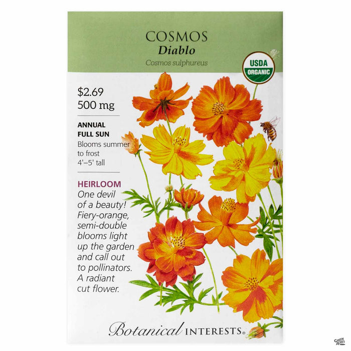 Botanical Interests Seeds Cosmos Diablo - Organic