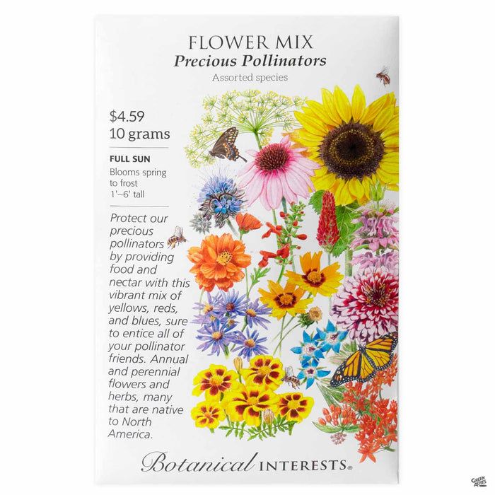 Botanical Interests Seeds Flower Mix Precious Pollinators