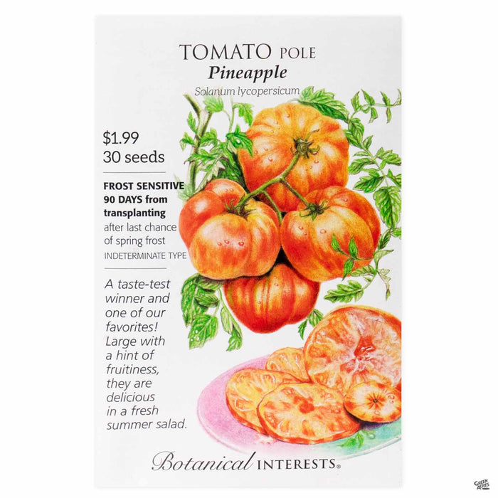 Botanical Interests Seeds Tomato Pole Pineapple