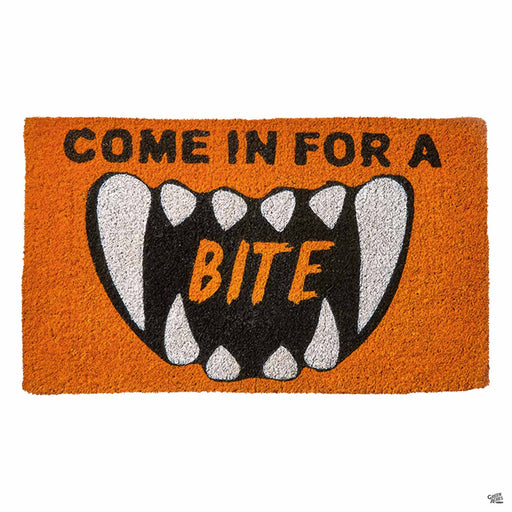 Come In For a Bite Coir Door Mat