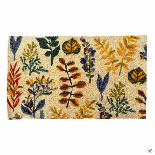 Falling Leaves Coir Mat
