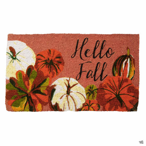 Hello Fall Coir Mat