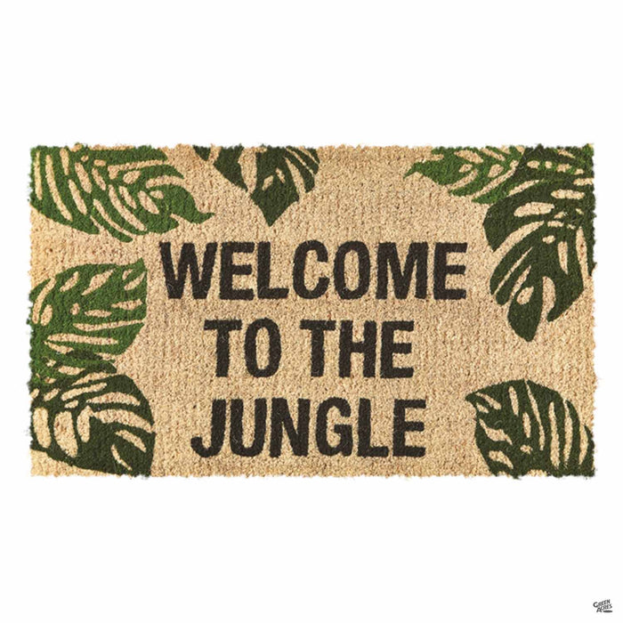 Welcome to the Jungle Coir Door Mat