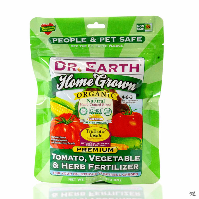 Dr Earth Home Grown Tomato, Vegetable and Herb Fertilizer 4-6-3