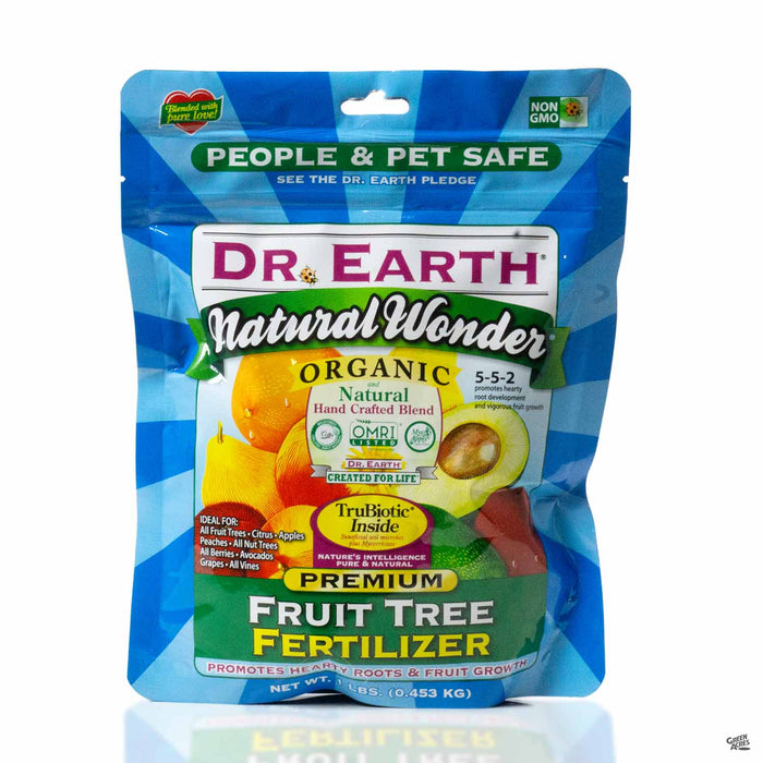 Dr Earth Natural Wonder Fruit Tree Fertilizer 5-5-2