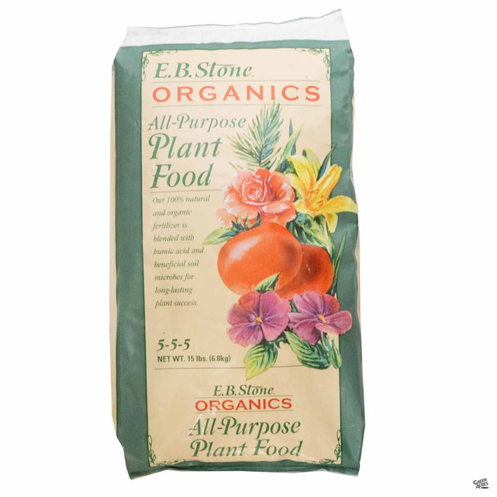 EB Stone All Purpose Plant Food 15 pound bag