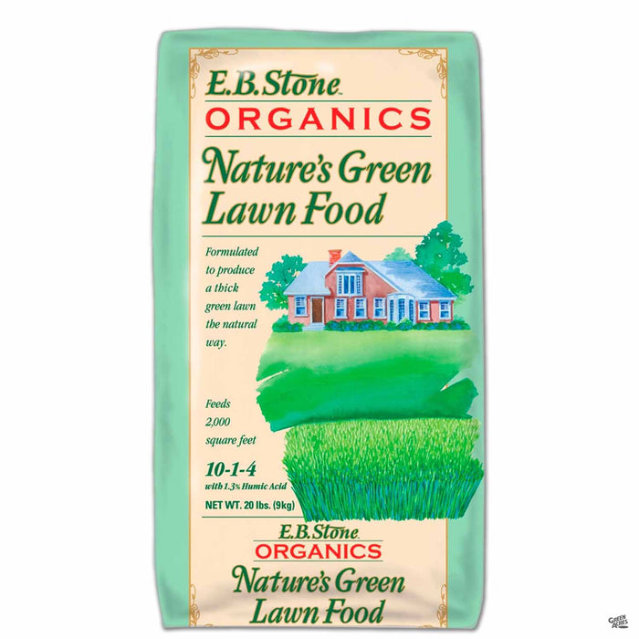 Nature's Green Lawn Food 20 pound bag