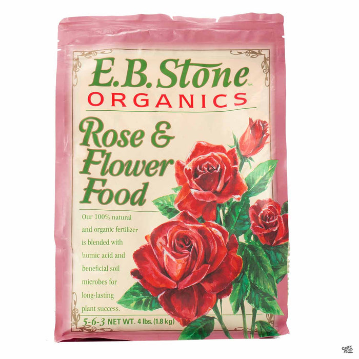 EB Stone Rose and Flower Food 4 pound