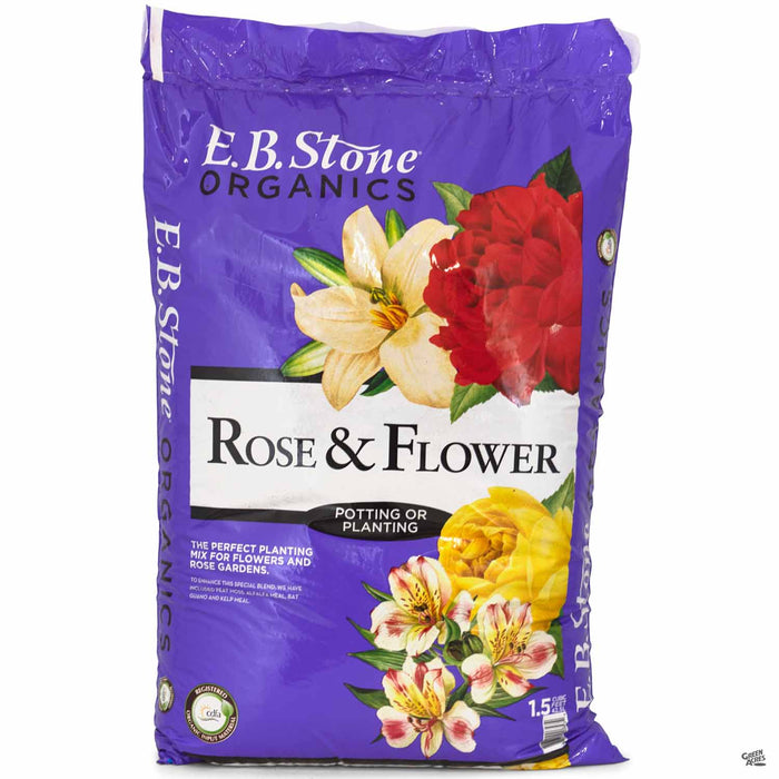 EB Stone Rose and Flower Potting and Planting Mix 1.5 cubic feet