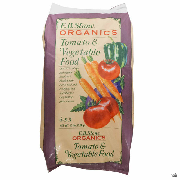 EB Stone Tomato and Vegetable Food 15 pound bag