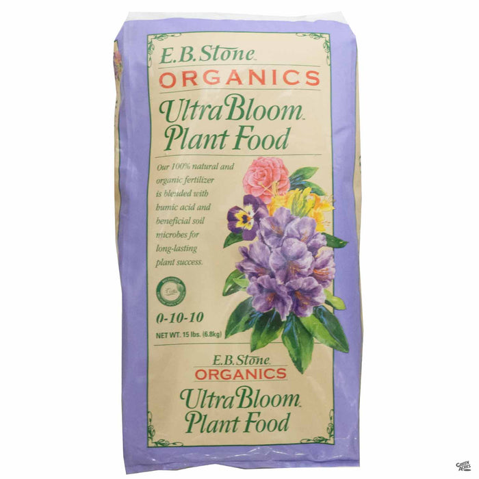 EB Stone Ultra Bloom Plant Food 15 pound bag
